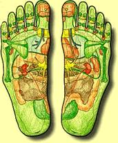 Fussreflexzonen Massage hilft bei verspannten Muskeln und Beschwerden
